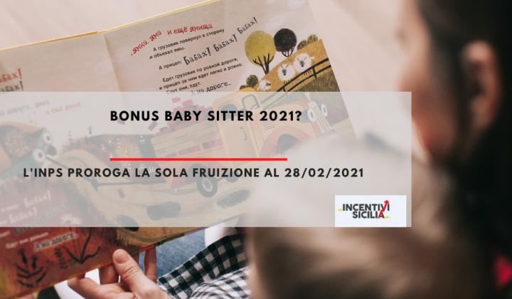 Immagine articolo: Ma è stato prorogato il Bonus Baby Sitter INPS per il 2021?