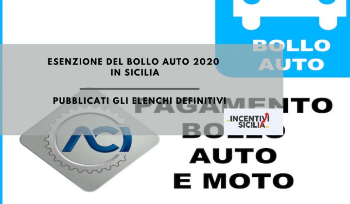 Immagine articolo: Esenzione bollo auto 2020: Pubblicati gli elenchi definitivi di chi non dovrà pagare la tassa automobilistica