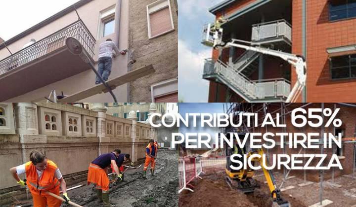 Immagine articolo: Da oggi possibile presentare le domande per partecipare al Bando ISI INAIL 2017: contributi al 65%per investire in sicurezza
