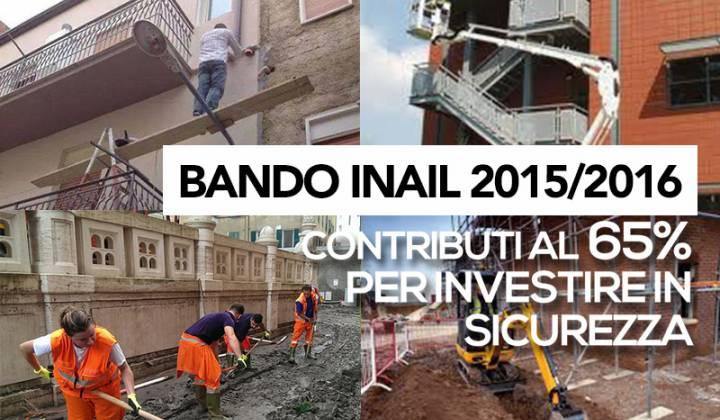 Immagine articolo: Contributo al 65% con il bando INAIL 2015: 17 mil €  per le aziende siciliane e 276 per tutta l'Italia
