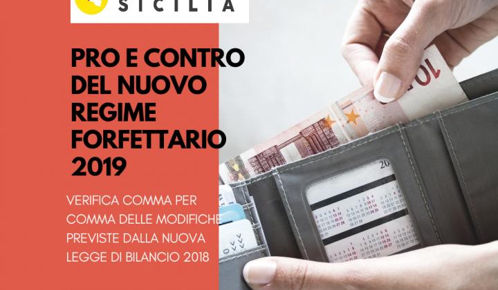 Immagine articolo: Regime forfettario 2019: Pro e contro, comma per comma, delle modifiche previste dalla Legge di Bilancio al regime fiscale agevolato per le partite IVA