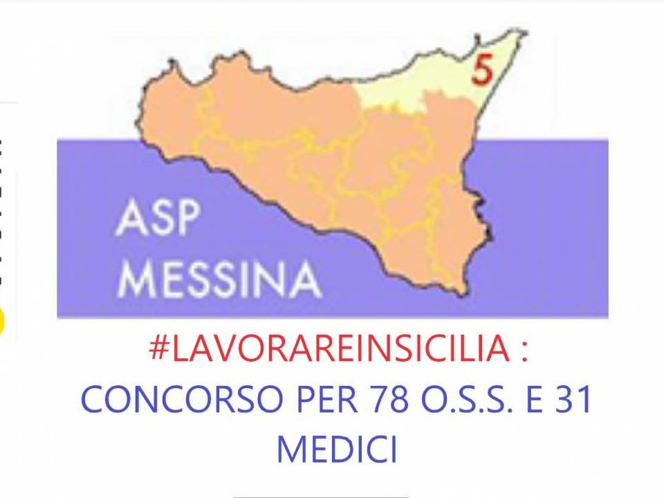 Immagine articolo: Due concorsi per selezionare 78 O.S.S. e 31 medici presso l' A.S.P. di Messina