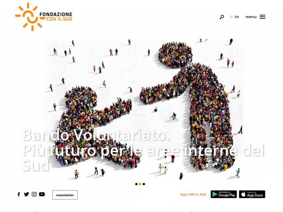 Immagine articolo: Aperto il Bando Volontariato 2019  per realizzare progetti di innovazione sociale dedicati alle aree interne del Sud.