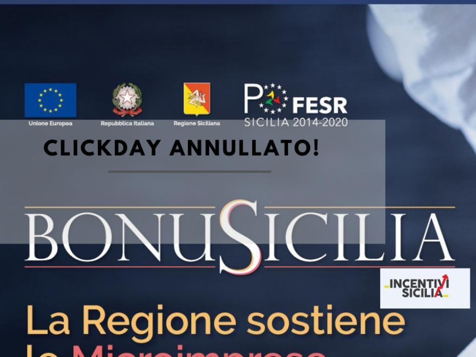 Immagine articolo: Salta il click day del BonuSicilia!