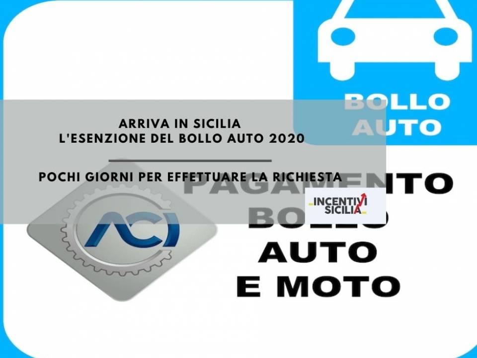 Immagine articolo: Arriva l'esenzione della tassa automobilistica 2020 per i siciliani: poco tempo per l'invio delle istanze