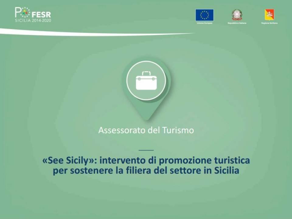 Immagine articolo: «See Sicily»: l' intervento di promozione turistica lanciato dalla Regione Sicilia per sostenere il settore turistico nell'emergenza Covid